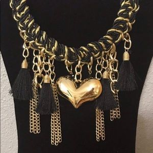 Jewelry - Gold Heart Necklace
